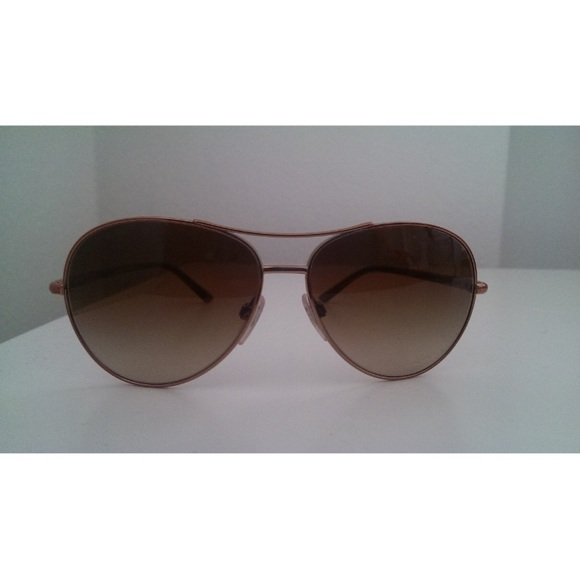 c4d0b30e9c9c Burberry Accessories - Burberry rosegold aviator sunglasses